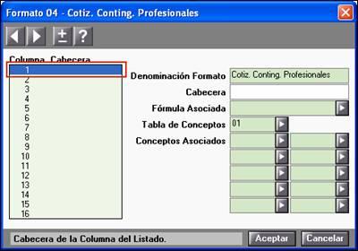 Formato 04 cptización contingencias profesionales