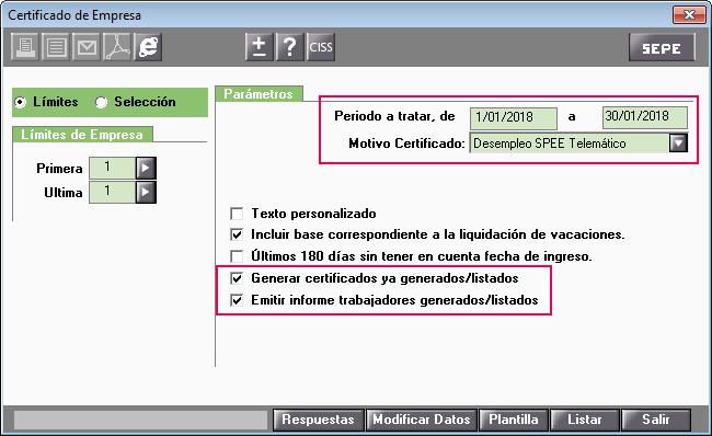 Certificado De Empresa Telematico