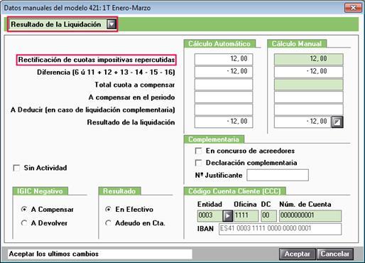 Datos manuales