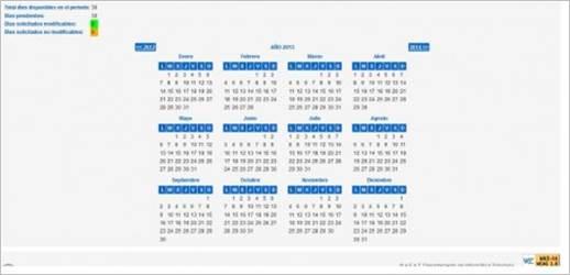 Vacaciones fiscales AEAT_Individual