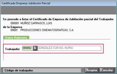 Listar certificado