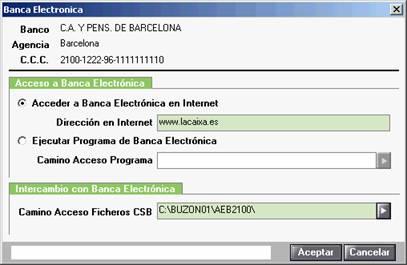 Banca electrónica
