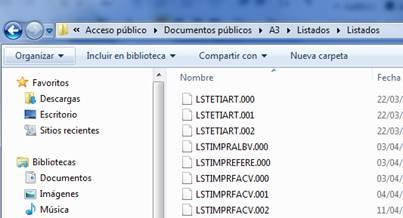 Copia del fichero del documento