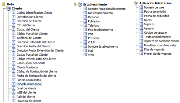 Formatos de documentos de venta