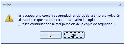 Aviso recuperar copia