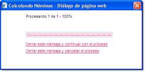proceso calculo nominas