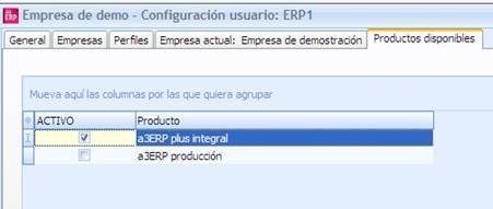 licencias a3ERP plus integral