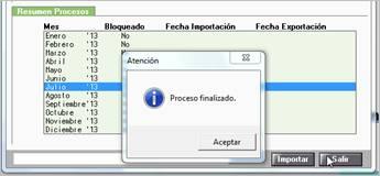Importación de fichero
