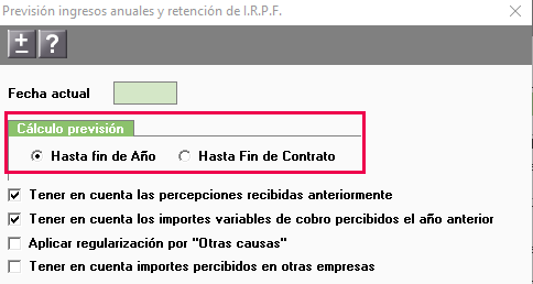 irpf segun fin contrato