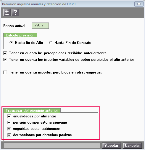 prevision irpf anuales