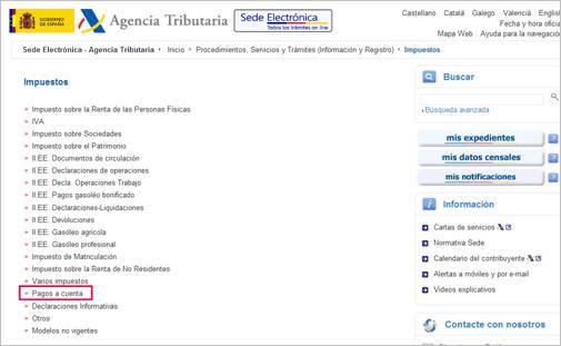 Presentaci n telem tica por lotes de declaraciones negativas for Aeat oficina virtual sede electronica