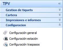 Configuración general del TPV