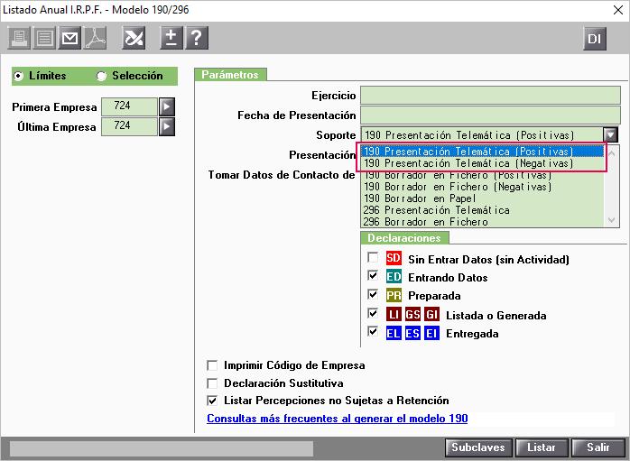 190 Presentacion Telematica