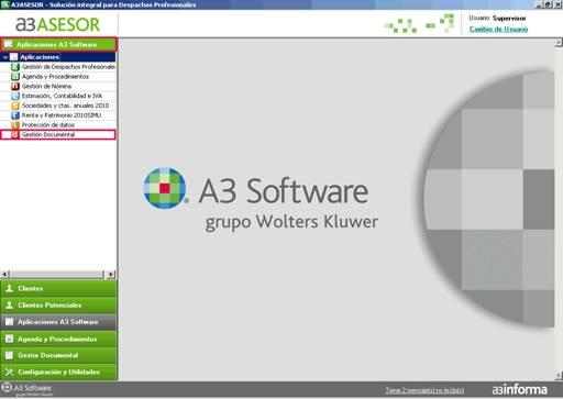 Aplicaciones A3 Software de a3ASESOR