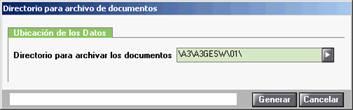 directorio de los documentos