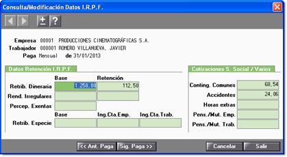 datos irpf