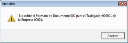 No existe formato de documento 000