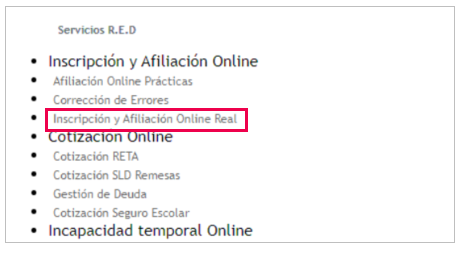 afiliacion online