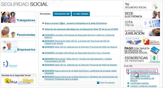 acceso sistema red online