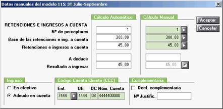 Datos manuales 115
