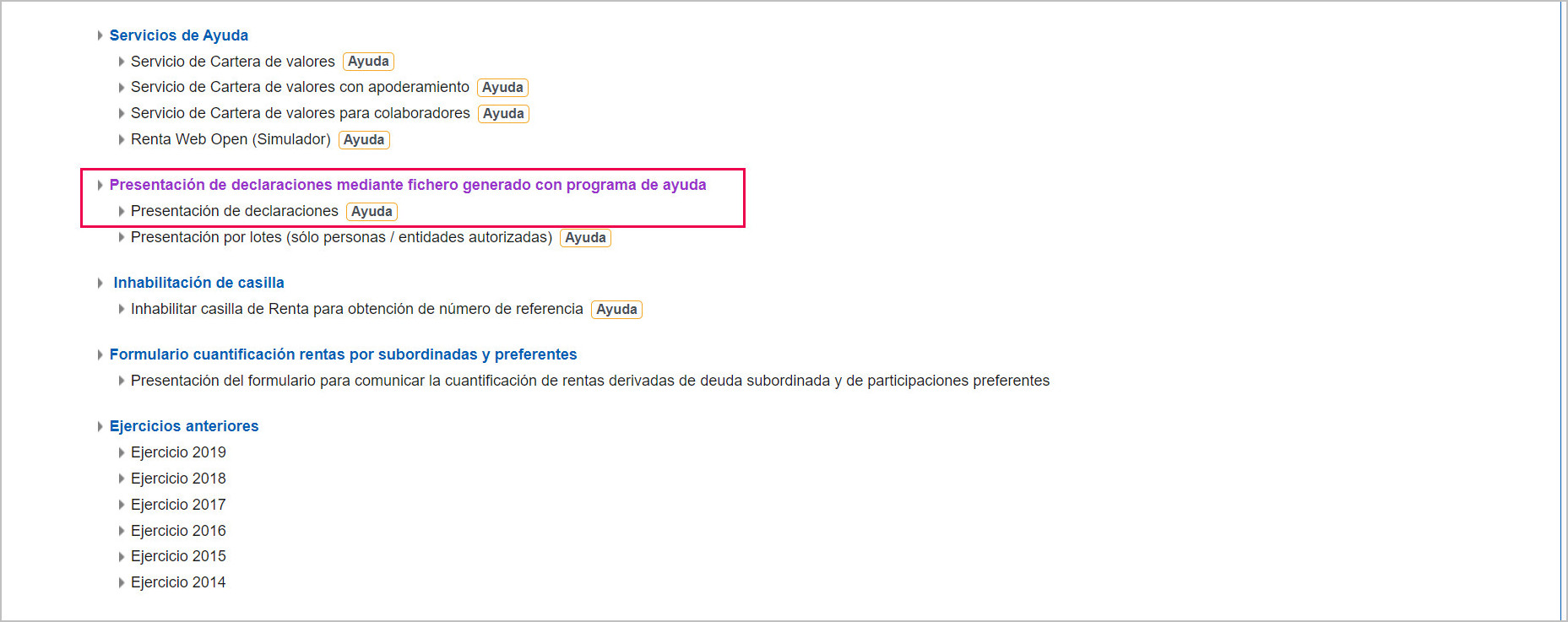 presentar AEAT fichero