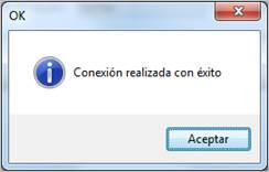 conexion ok