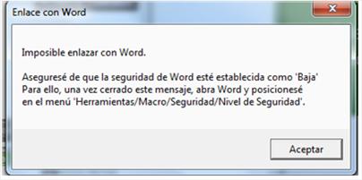 Enlace con Word