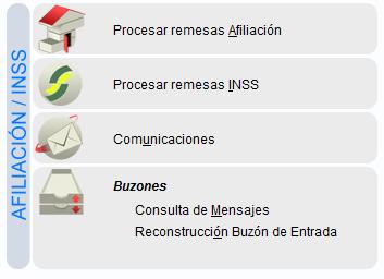 procesar afiliacion INSS