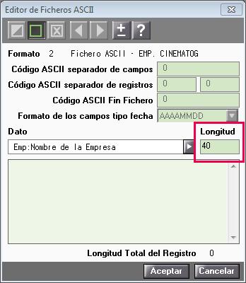 pantalla 1 fichero ascii