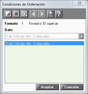 condiciones de ordenacion
