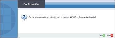 Control de clientes y proveedores duplicados en Portal Asesor